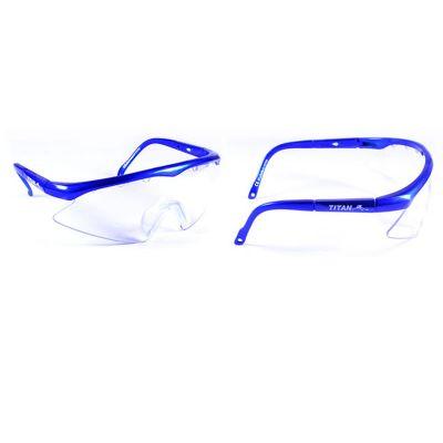 Titan Squashbril Junior blue