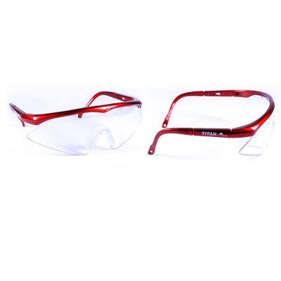 Titan Squashbril Junior rood